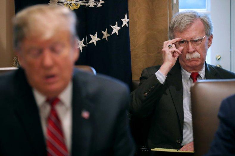 Trump and Bolton