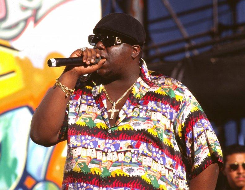 Biggie in concert