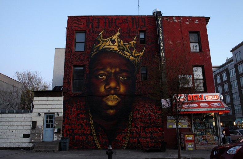 Biggie Mural in Brooklyn
