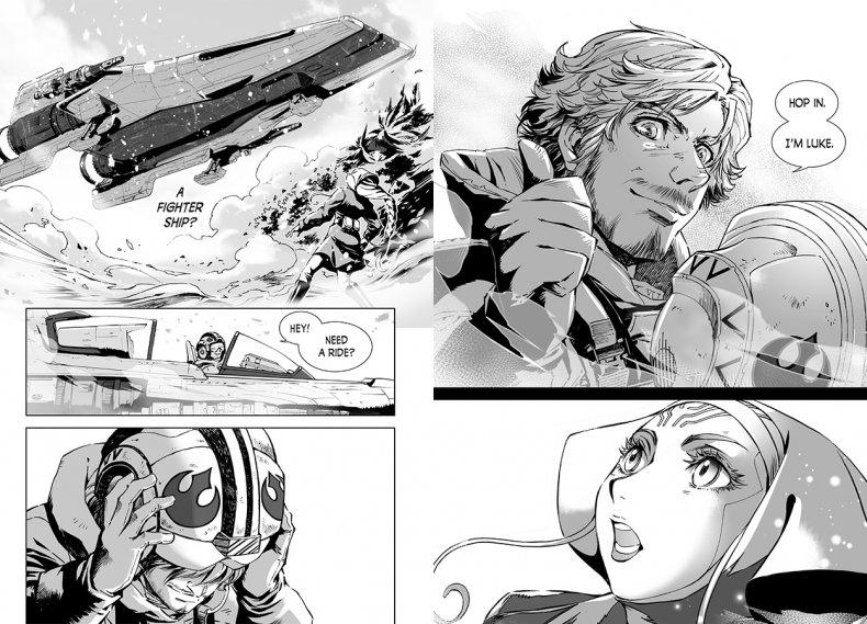luke-skywalker-manga-star-wars
