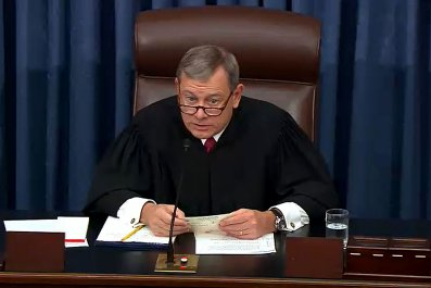 Chief Justice John Roberts Impeachment Trial