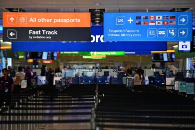 Heathrow Airport Terminal 2 Arrivals 2019