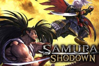 samurai shodown nintendo switch box art