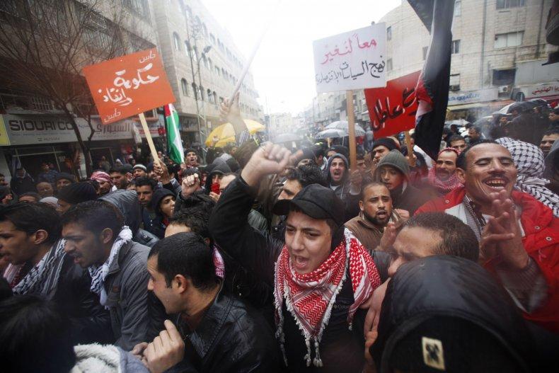 jordan, arab, spring, protests, king, abdullah