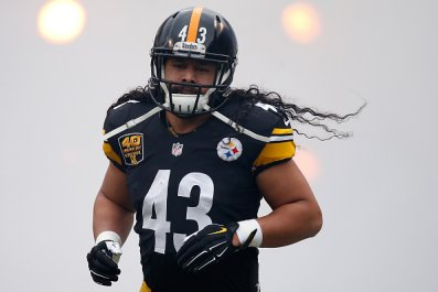 Troy Polamalu and Pittsburgh Steelers