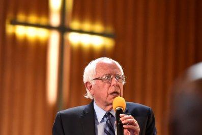 bernie sanders christians atheist support