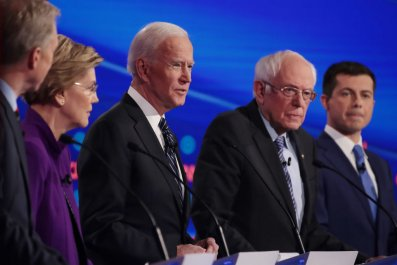 Warren, Biden, Sanders and Buttigieg