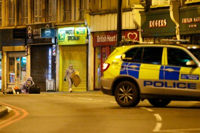 Police Shoot Armed Man In South London