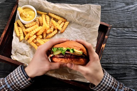 burger, meat, fries, fast food, stock, getty