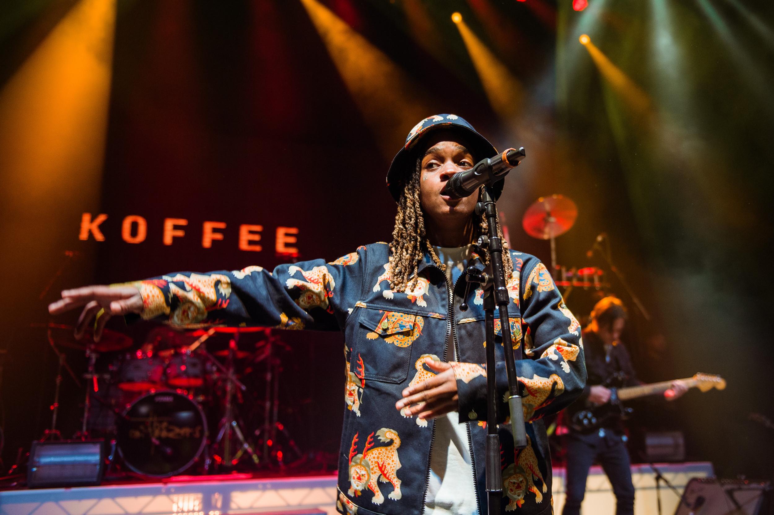Koffee Reggee singer