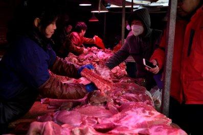 Meat Market, Beijing