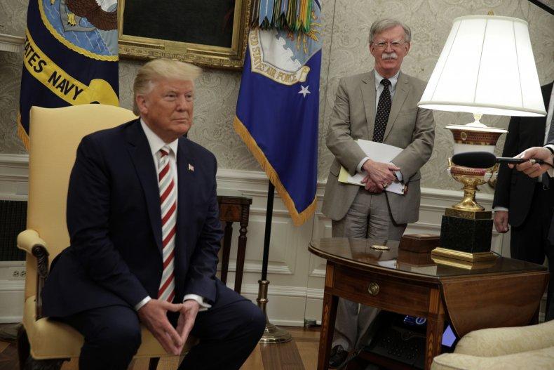 Donald Trump, John Bolton, impeachment, jail, prison