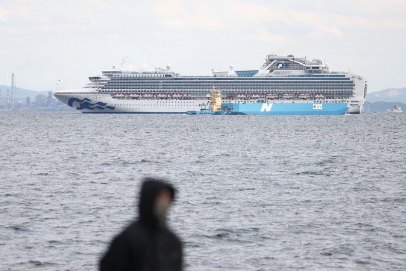 Diamond Princess cruise ship Japan February 2020