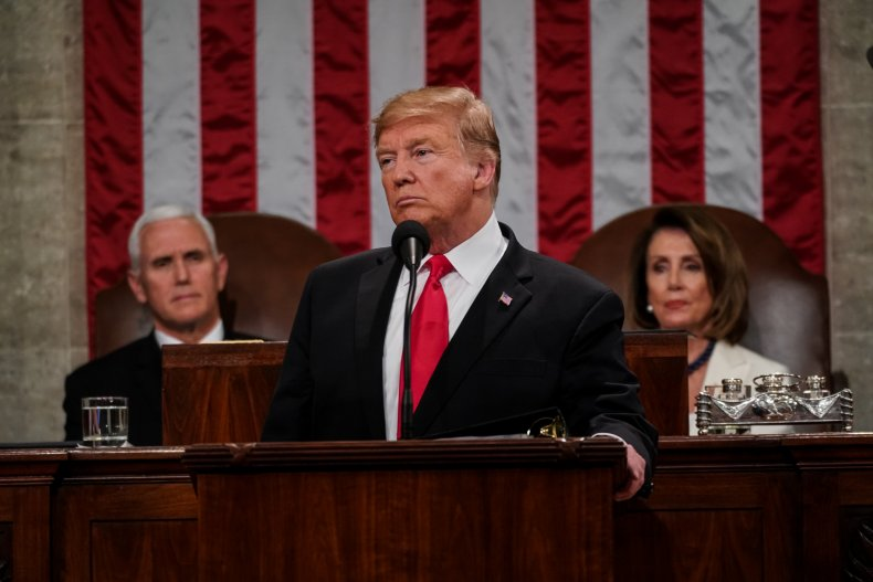 state of the union purpose history trump