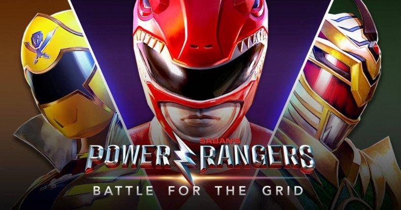 power rangers battle for the grid art