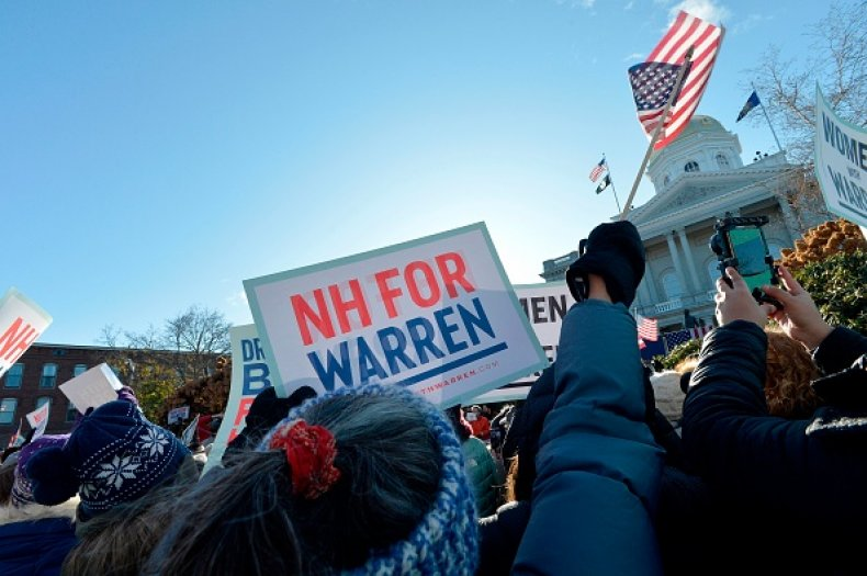 warren rally new hampshire statehouse