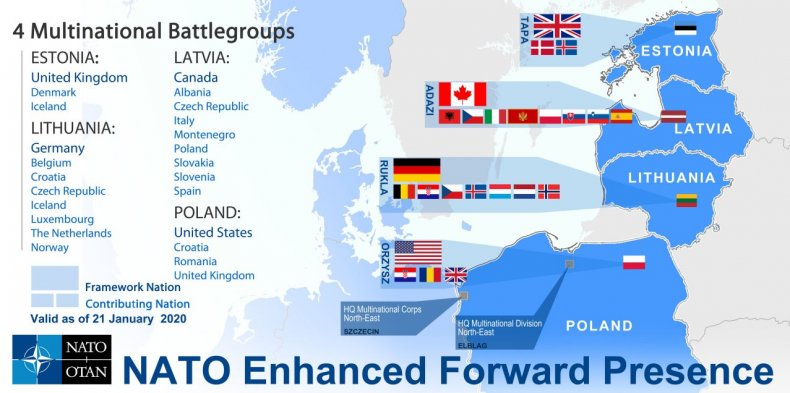 nato, enhanced, foward, presence, january, 2020