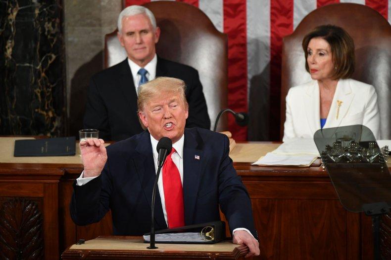 Trump State of the Union address Pelosi