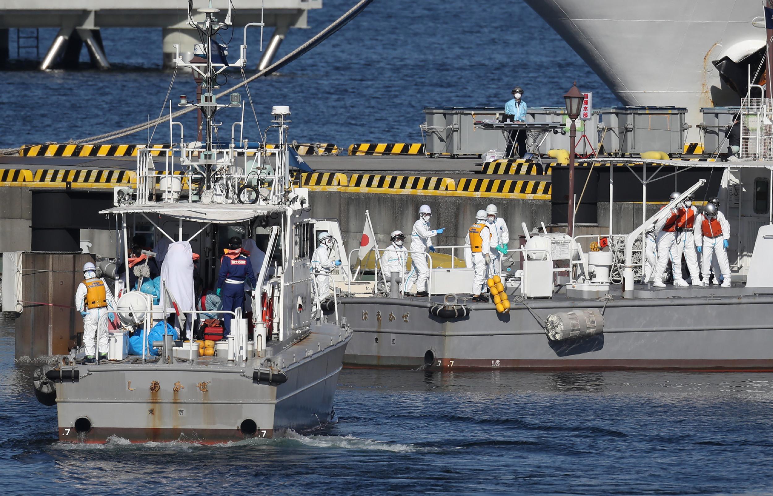 AMERICAN AMONG THOSE TESTING POSITIVE FOR CORONAVIRUS ON QUARANTINED CRUISE SHIP