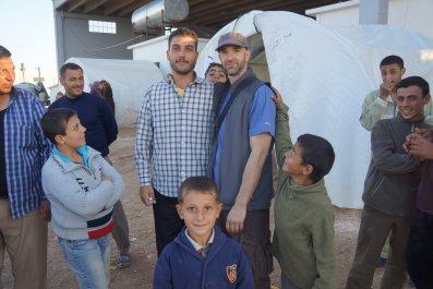 Matthew Schrier, Syria, refugee camp, Qatar, al-Nusra
