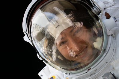 NASA, Christina Kock, spacewalk