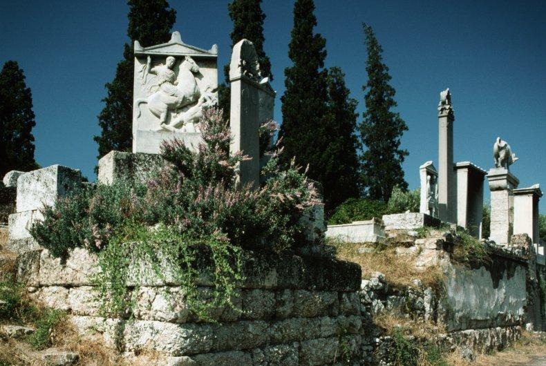 Kerameikos cemetery