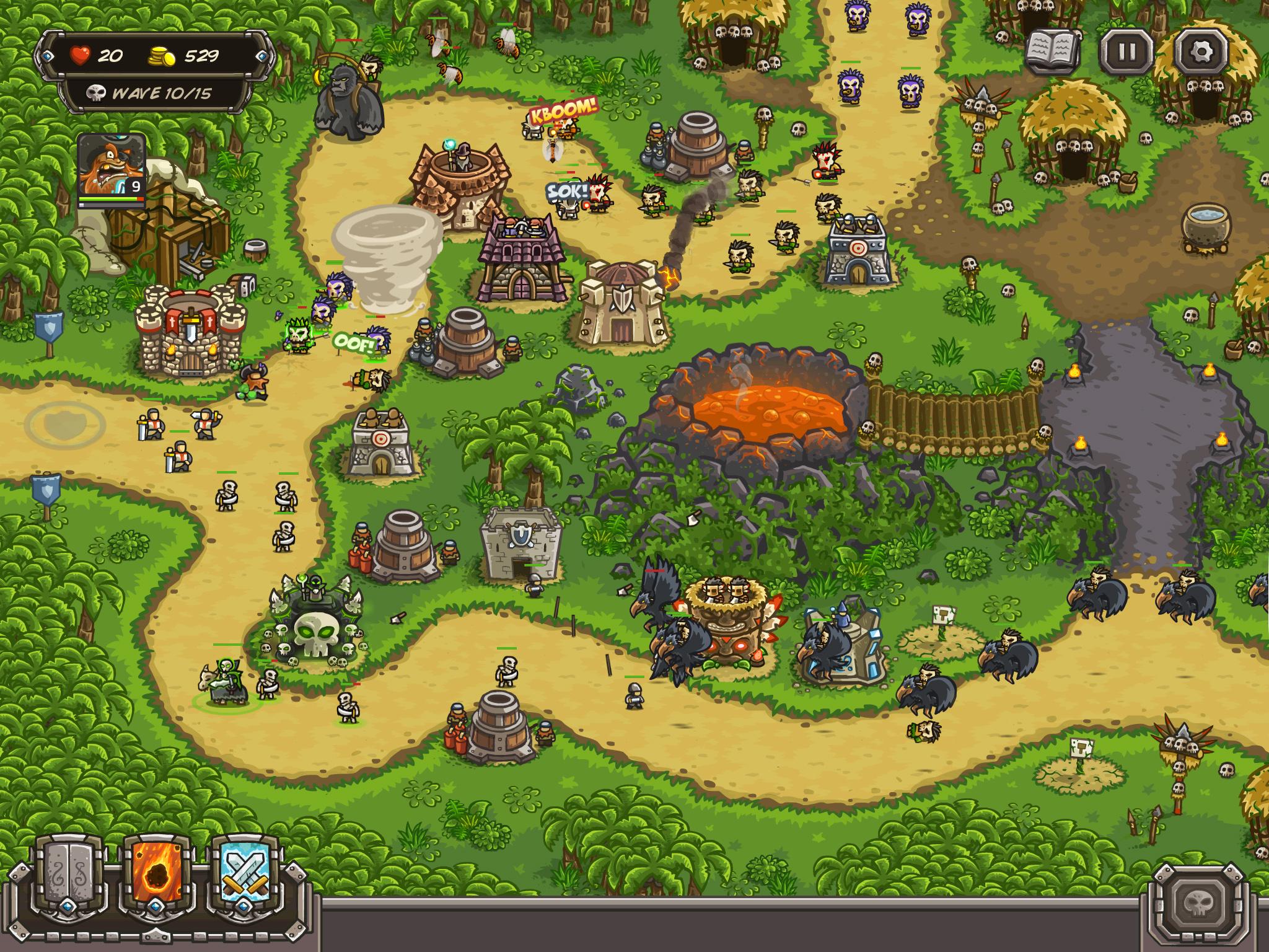 Play kingdom rush frontiers