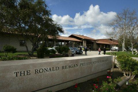 Ronald Reagan Presidential Library naming