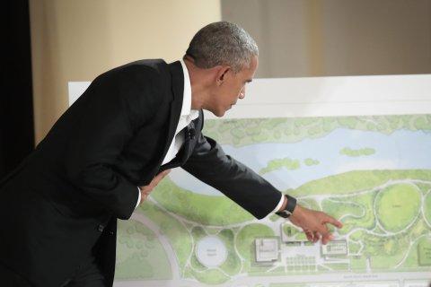 Barack Obama presidential library center chicago