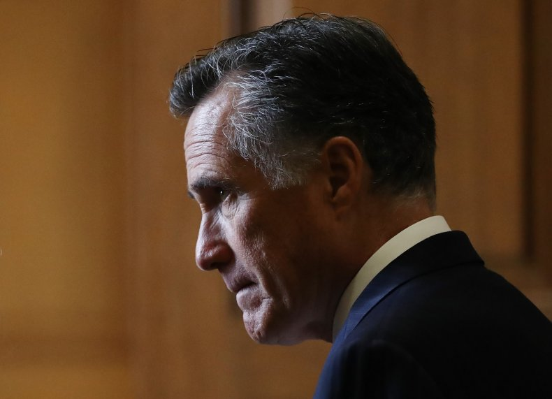 Republicans come to Romney's support after impeachment