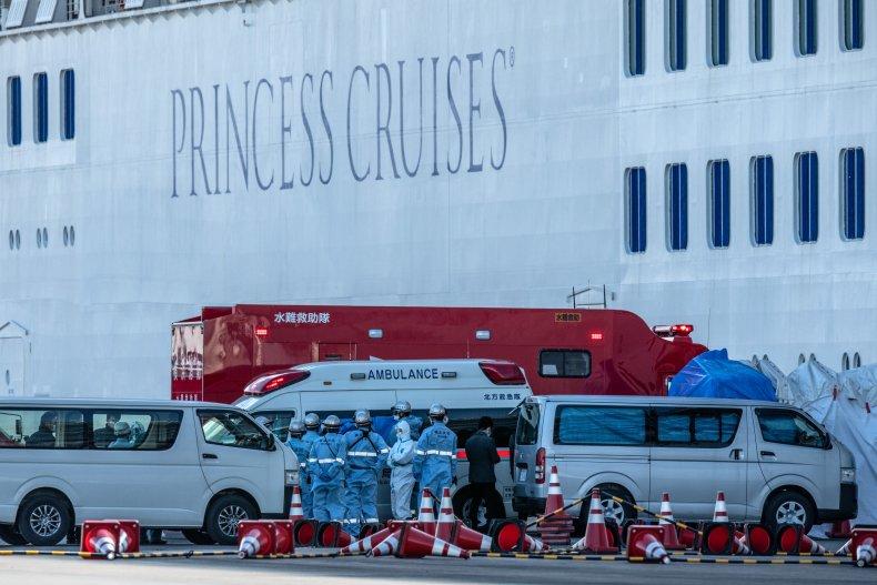coronavirus, diamond princess cruise ship, japan, Yokohama