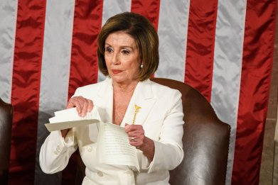 Nancy Pelosi State of the Union