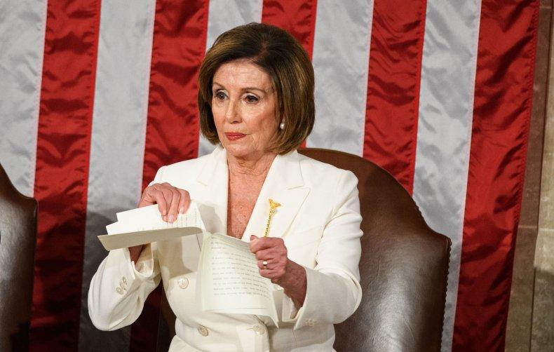 Nancy Pelosi State of the Union