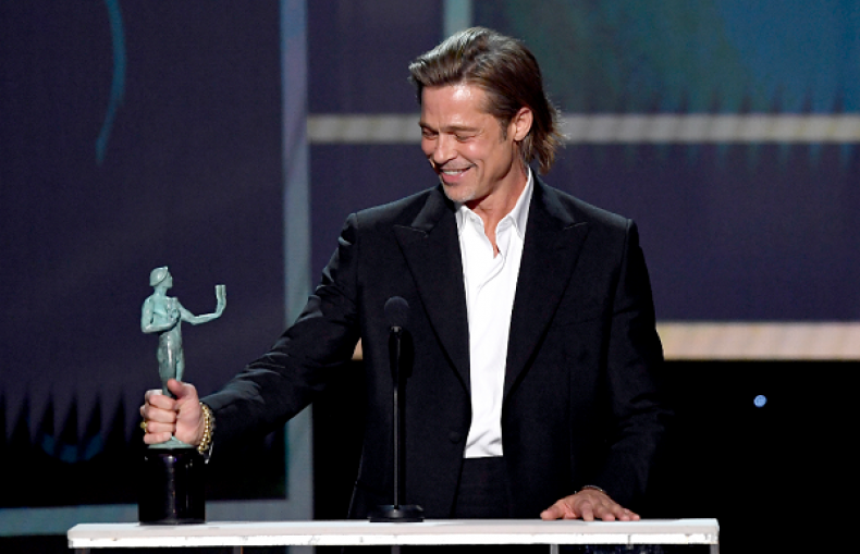 Every Ridiculously Charming Brad Pitt Acceptance Speech Of Award Season
