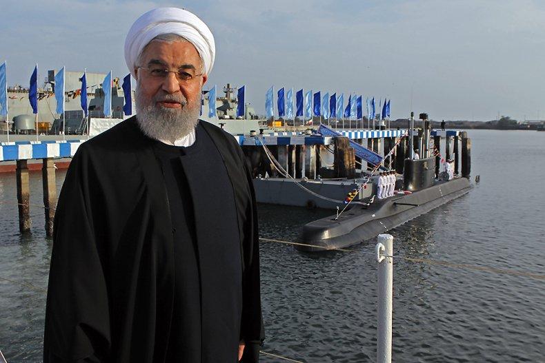 iran, navy, president, rouhani, cruise, missile, submarine