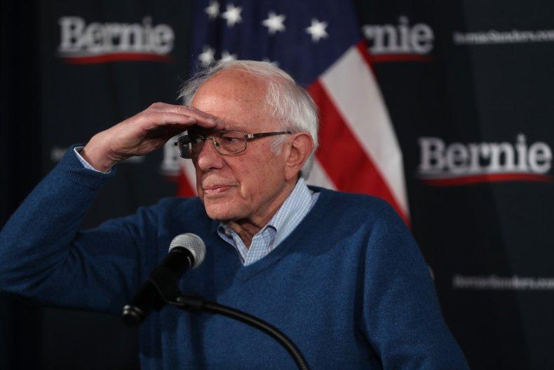 Bernie Sanders in NH