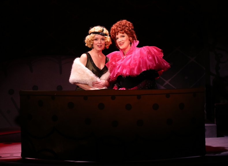 Nancy Anderson and Charles Busch 'Lily Dare'