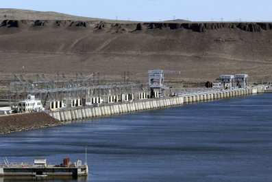 McNary Lock and Dam near Umatilla, Oregon