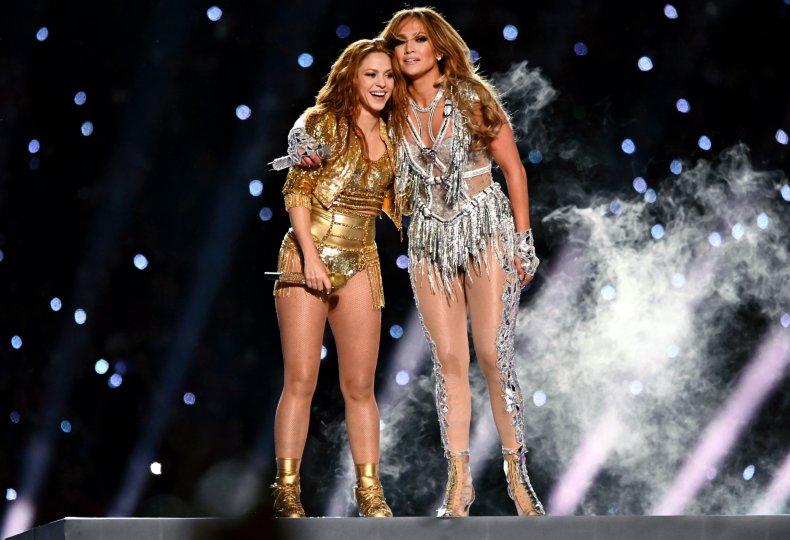 Jennifer Lopez and Shakira
