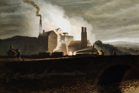 Industrial landscape, Wales