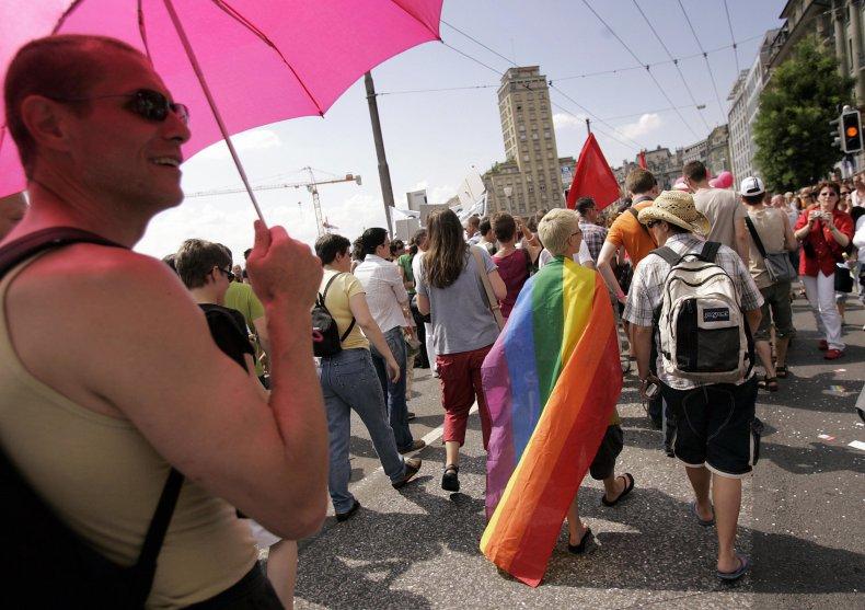 Gay Pride in Lausanne 2006
