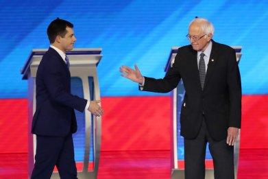 Buttigieg and Sanders