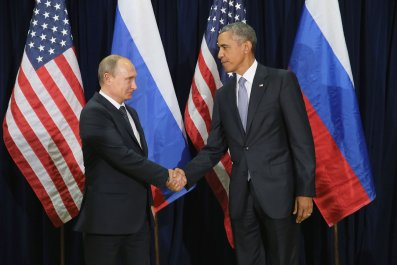 Vladimir Putin, Barack Obama, Sergei Lavrov, Trump
