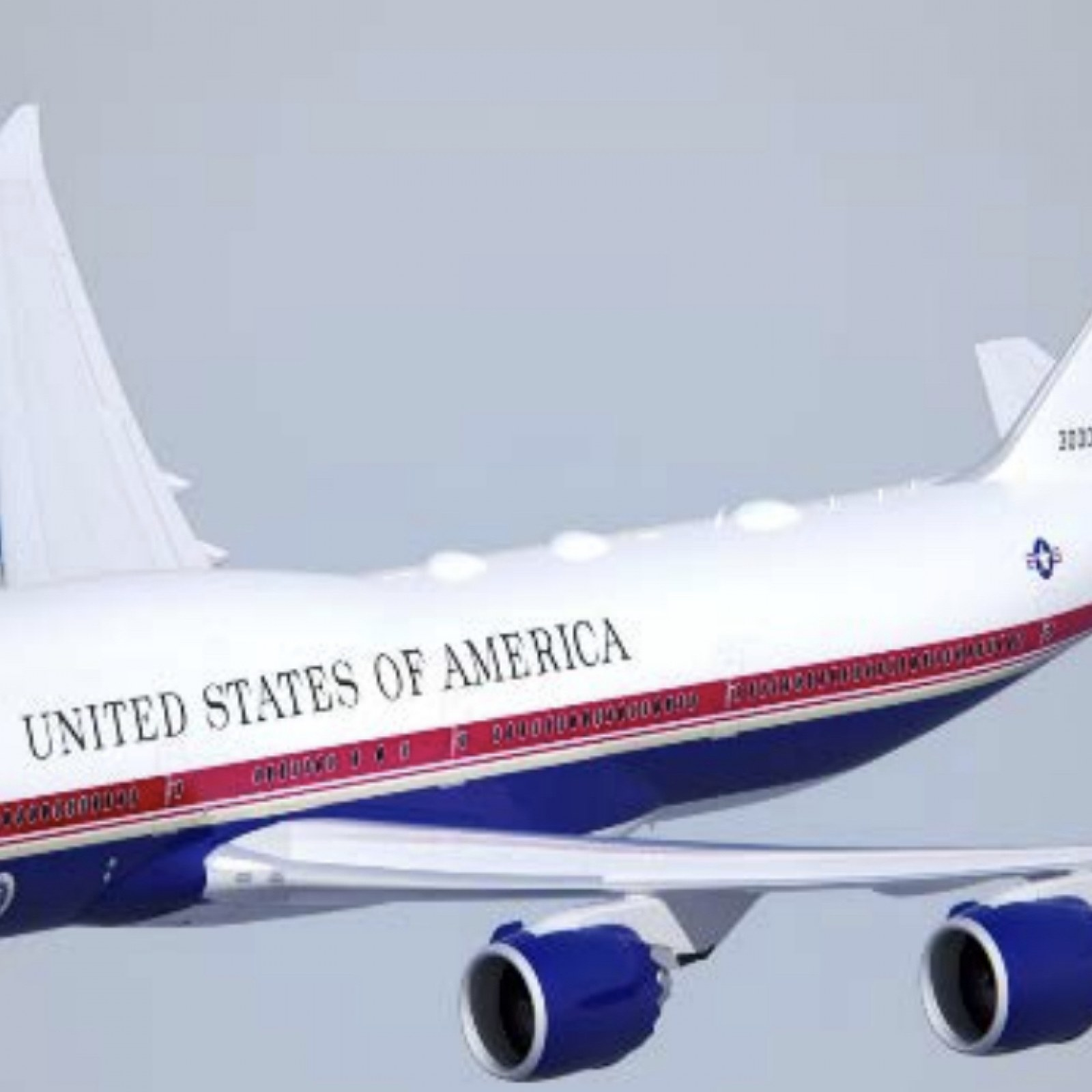 Pentagon Reveals Trump S Air Force One New Paint Job Will Be Red