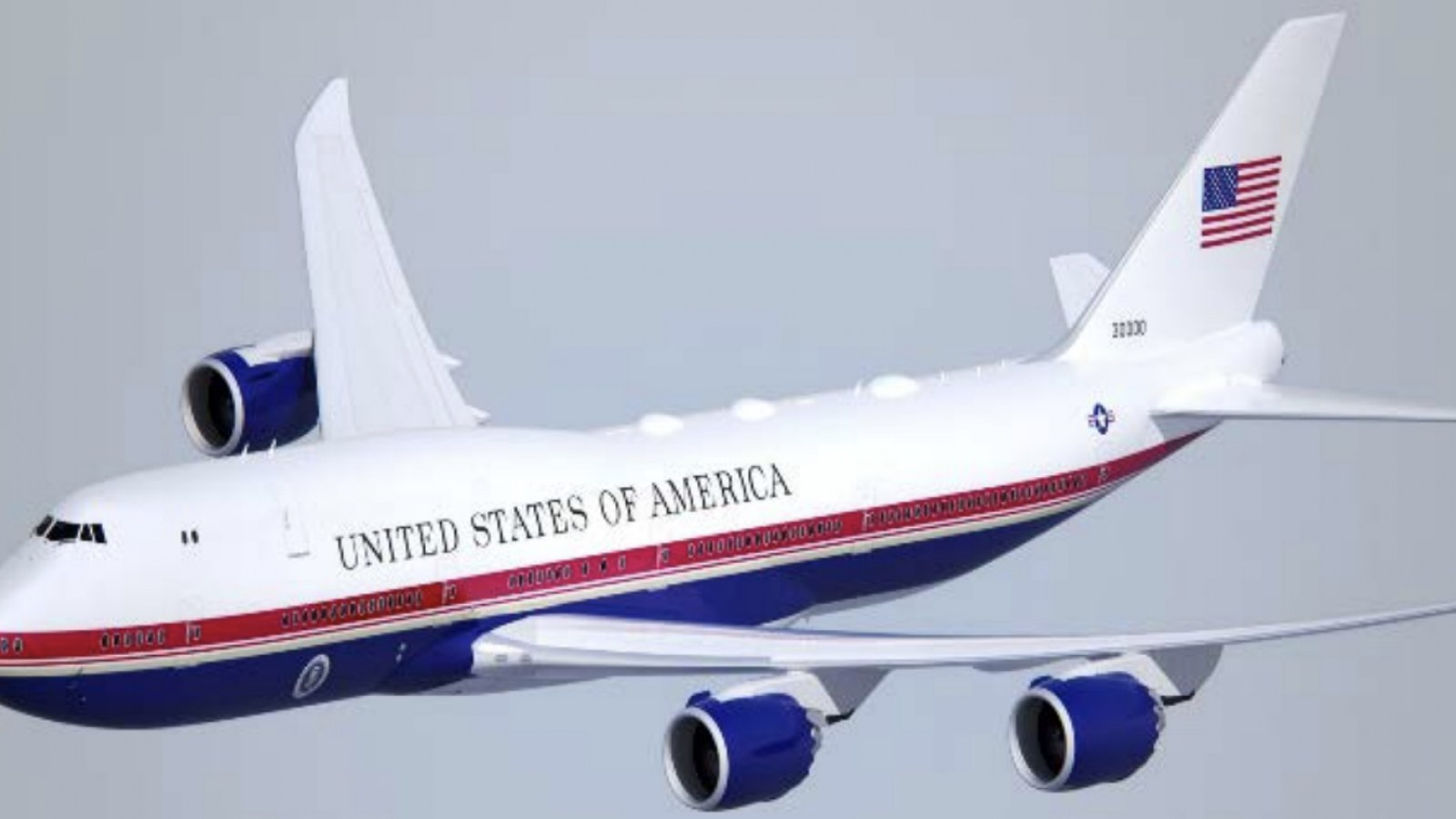 Pentagon Reveals Trump S Air Force One New Paint Job Will Be Red White And Dark Blue
