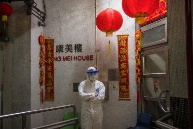 coronavirus, hong kong, Cheung Hong Estate,Tsing Yi Hong Mei House