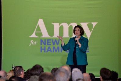 Sen. Amy Klobuchar in New Hampshire