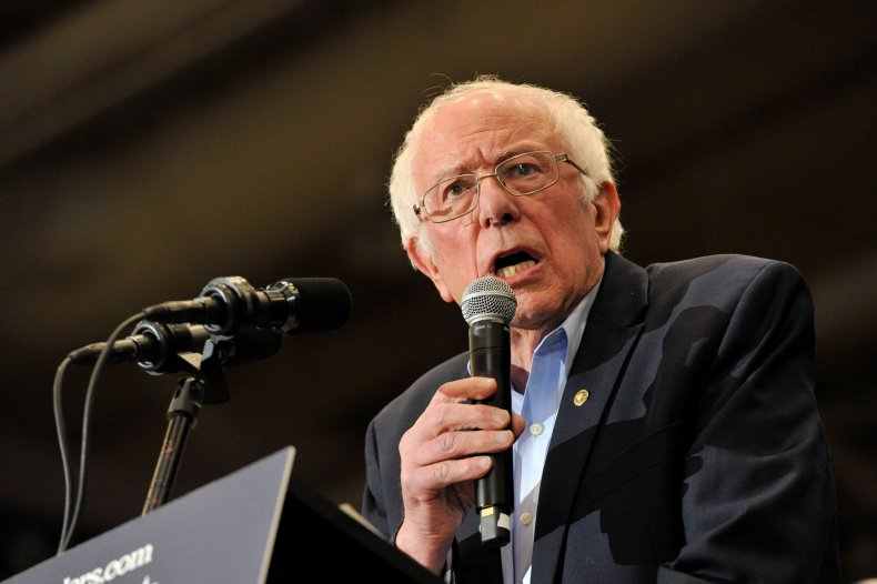 Bernie Sanders Joe Biden 2020 poll