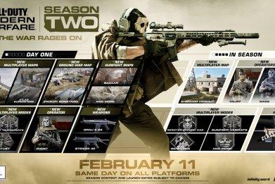 modern warfare season 2 roadmap update 114