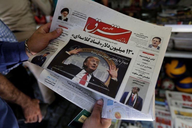 iran, donald, trump, newspaper, us, sanctions